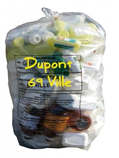 Emballages vides de produits phytopharmaceutiques